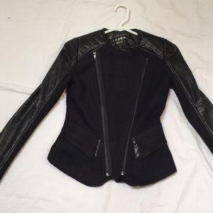 Blanknyc Asymmetrical Jacket